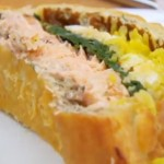 Brendan's Salmon Coulibiac with a Scandinavian Pastry