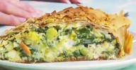 Brendan's Spinach, Cheese and Walnut Strudel